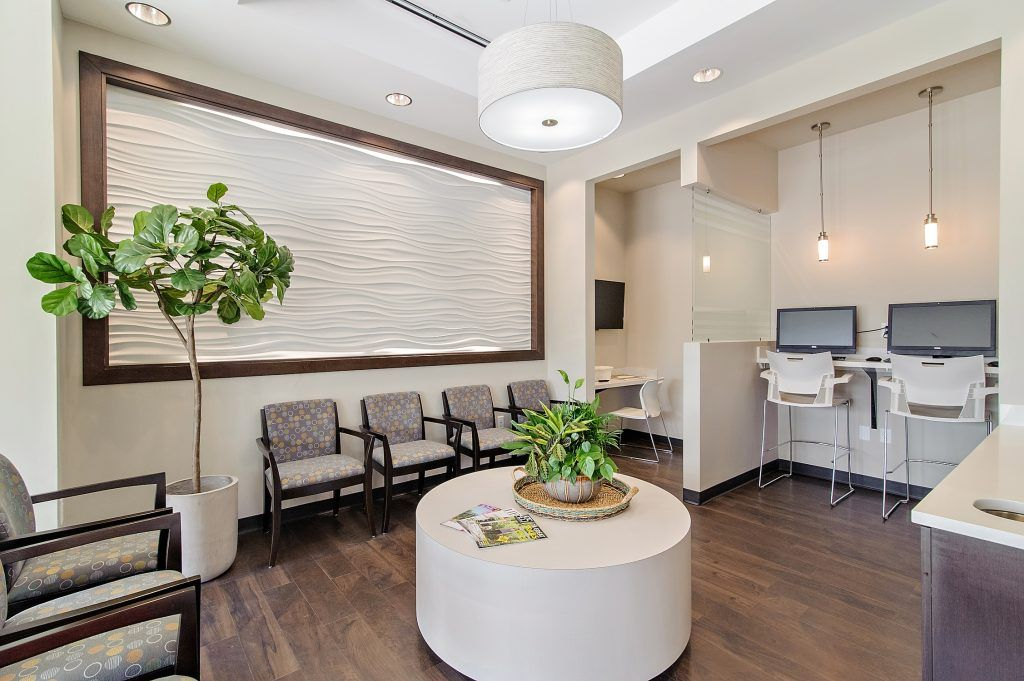 Gordon Dental office waiting room
