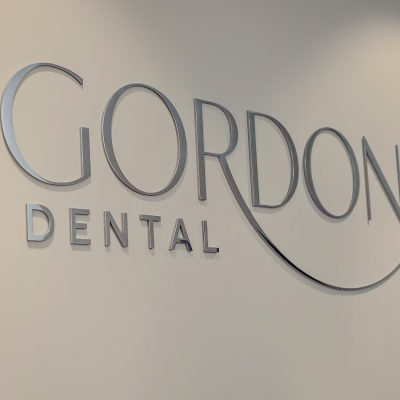 Gordon Dental office logo Leawood, KS